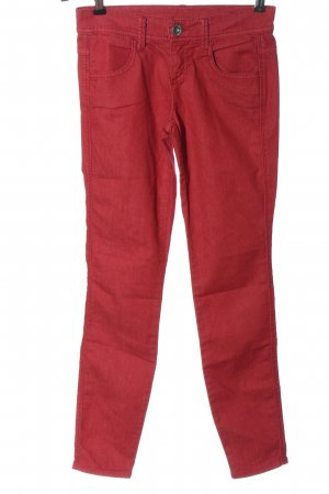 Benetton Jeans Röhrenjeans rot Casual-Look