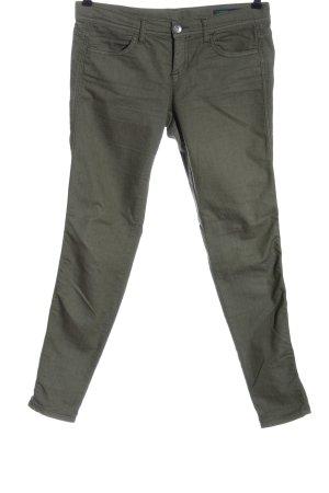 Benetton Jeans Jeans cigarette kaki élégant
