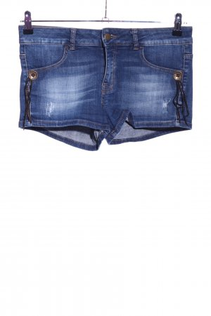 Benetton Jeans Shorts blue casual look