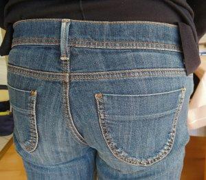 Benetton Jeans Slim jeans donkerblauw Katoen