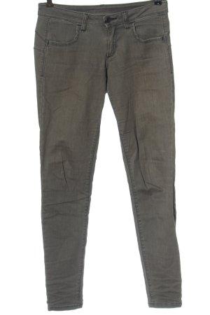 Benetton Jeans Slim Jeans hellgrau Casual-Look