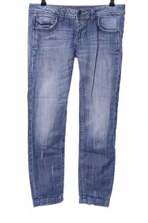 Benetton Jeans Slim Jeans blau Casual-Look
