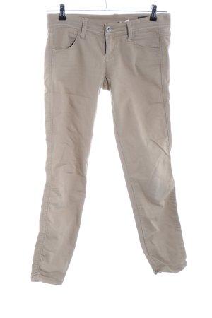 Benetton Jeans Jeans slim blanc cassé style décontracté