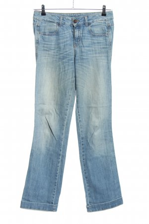 Benetton Jeans Straight-Leg Jeans blau Casual-Look