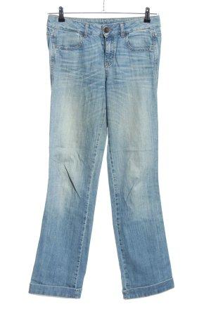 Benetton Jeans Straight-Leg Jeans blau Casual-Look