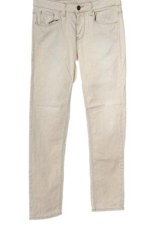 Benetton Jeans Straight-Leg Jeans wollweiß Casual-Look