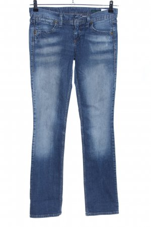 Benetton Jeans Straight Leg Jeans blue casual look