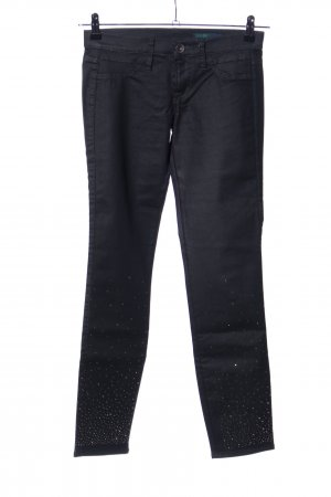 Benetton Jeans Stretch Jeans schwarz Casual-Look