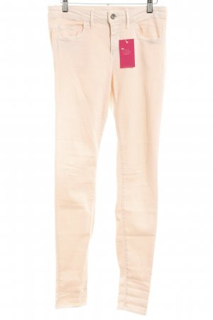 Benetton Jeans Stretch Trousers dusky pink casual look