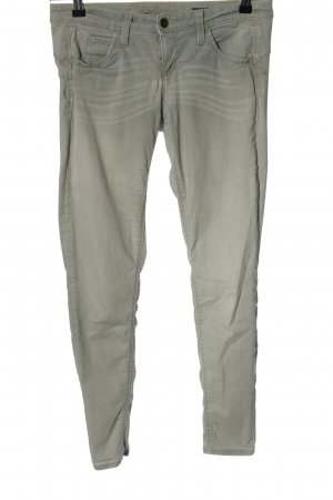 Benetton Jeans Stretch Trousers light grey casual look