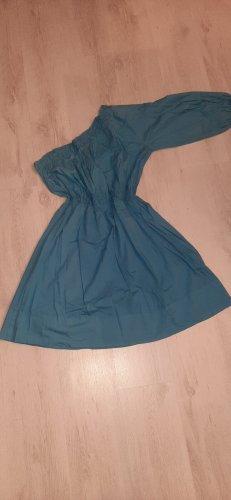 Benetton Vestido cut out azul celeste