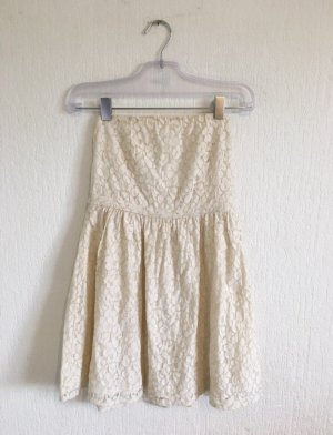 Benetton Lace Dress cream