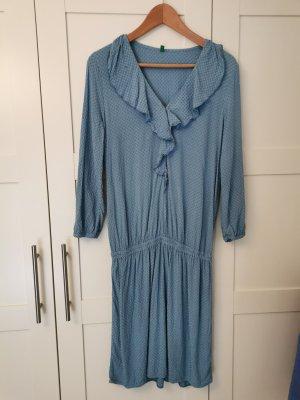 Benetton Sukienka z długim rękawem Wielokolorowy