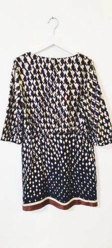 Benetton/ Kleid / Sommerkleid/ Grafisches Muster/ größe 38/ Zustand: Sehr gut