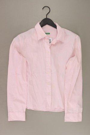 Benetton Blouse met lange mouwen stoffig roze-rosé-lichtroze-roze