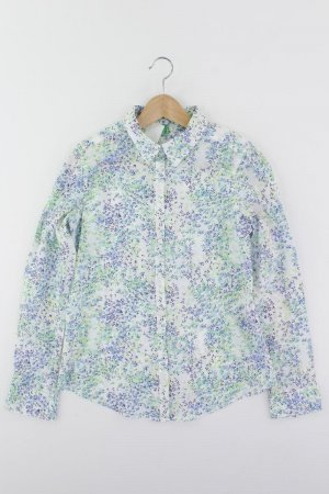Benetton Langarmbluse Größe S mehrfarbig aus Baumwolle