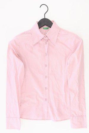 Benetton Langarmbluse Größe S pink aus Baumwolle