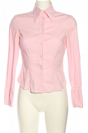 Benetton Langarmhemd pink Business-Look
