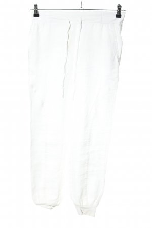 Benetton Linen Pants white casual look