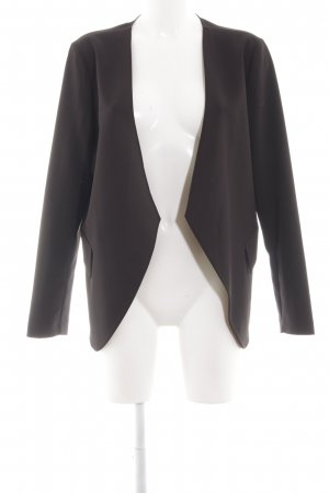 Benetton Long-Blazer schwarz Business-Look