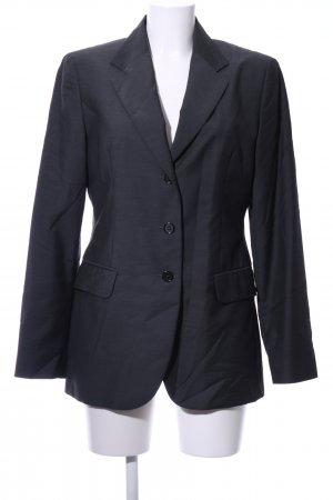 Benetton Long-Blazer hellgrau Business-Look