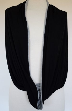 Benetton Tube Scarf black-grey