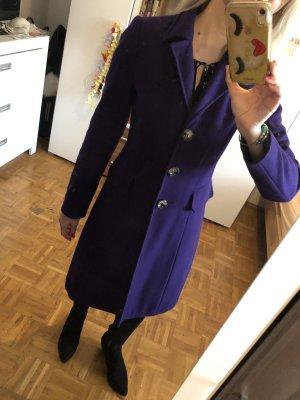 Benetton Manteau mi-saison violet foncé