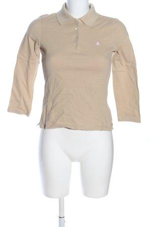 Benetton Polo-Shirt creme Casual-Look