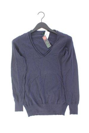 Benetton Sweater blue-neon blue-dark blue-azure cotton