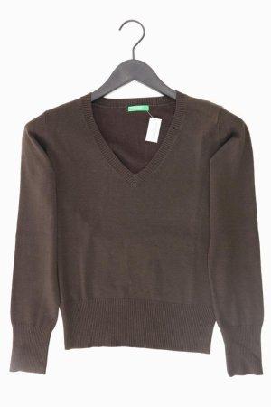 Benetton Pullover Größe S braun aus Acryl