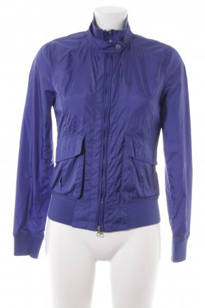Benetton Regenjacke blau Casual-Look