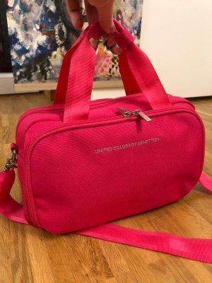 Benetton Reisetasche Kosmetiktasche Pink Travel