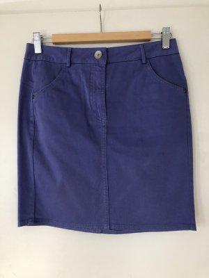 Benetton Miniskirt steel blue