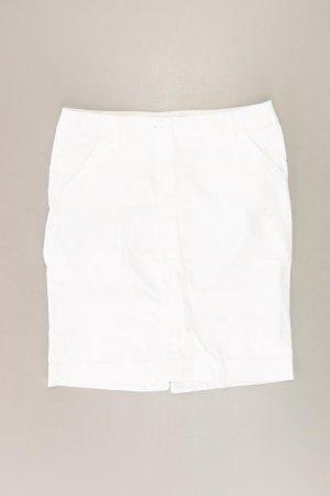 Benetton Spódnica w kolorze białej wełny