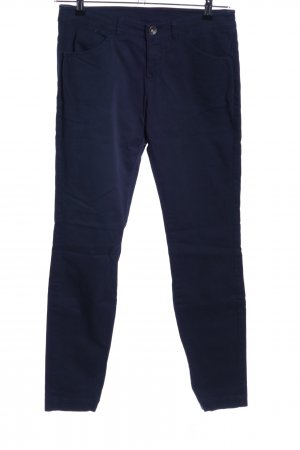 Benetton Röhrenhose blau Casual-Look