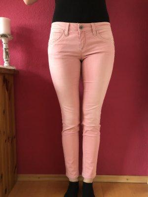 Benetton roséfarbene Jeans Skinny Pin up
