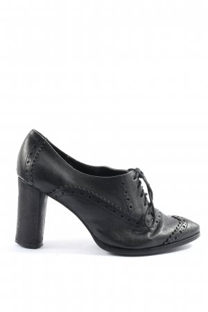 Benetton Lace Shoes black casual look
