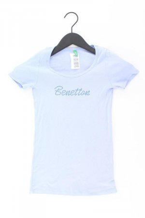 Benetton Shirt blau Größe XS