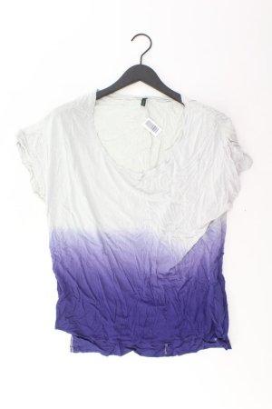 Benetton T-Shirt lilac-mauve-purple-dark violet viscose