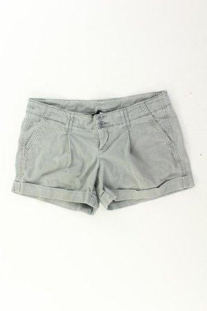Benetton Shorts Größe 42 grau aus Baumwolle