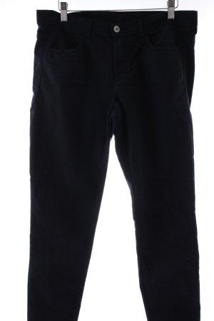 Benetton Skinny Jeans dunkelblau Casual-Look