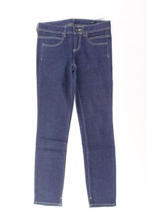 Benetton Skinny Jeans Größe 38 blau aus Baumwolle