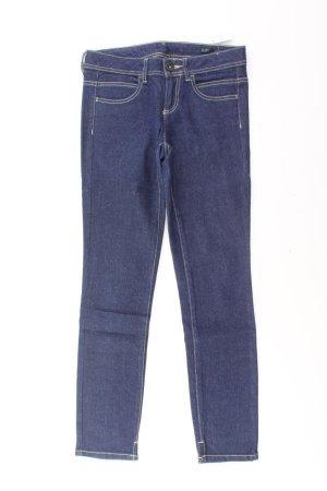 Benetton Jeans skinny bleu-bleu fluo-bleu foncé-bleu azur coton