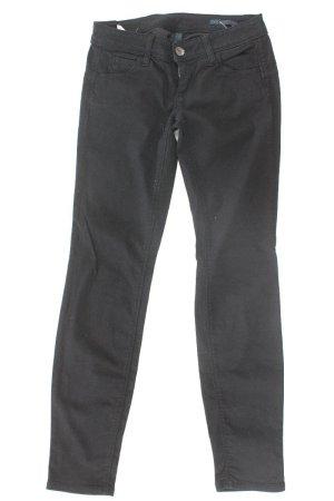 Benetton Skinny Jeans Größe S schwarz aus Baumwolle