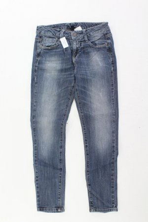 Benetton Skinny Jeans Größe W25 blau aus Baumwolle
