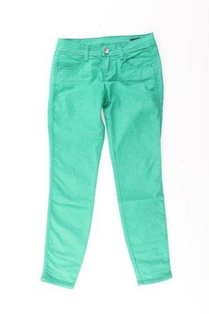 Benetton Skinny Jeans Größe W28 grün aus Baumwolle