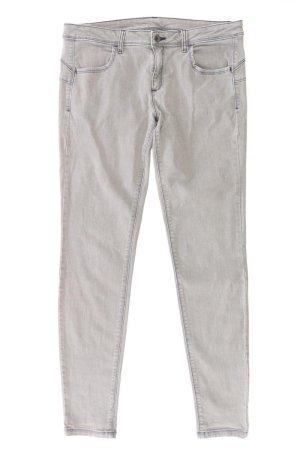 Benetton Skinny Jeans Größe W32 grau aus Baumwolle