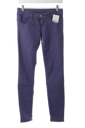 Benetton Slim Jeans blauviolett Casual-Look