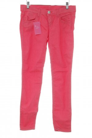 Benetton Slim Jeans hellrot Casual-Look