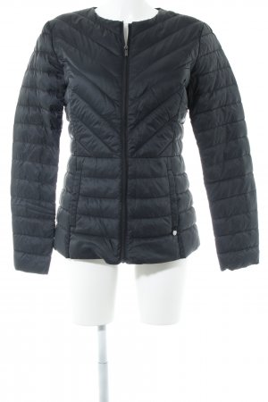 Benetton Softshelljacke schwarz Steppmuster Casual-Look